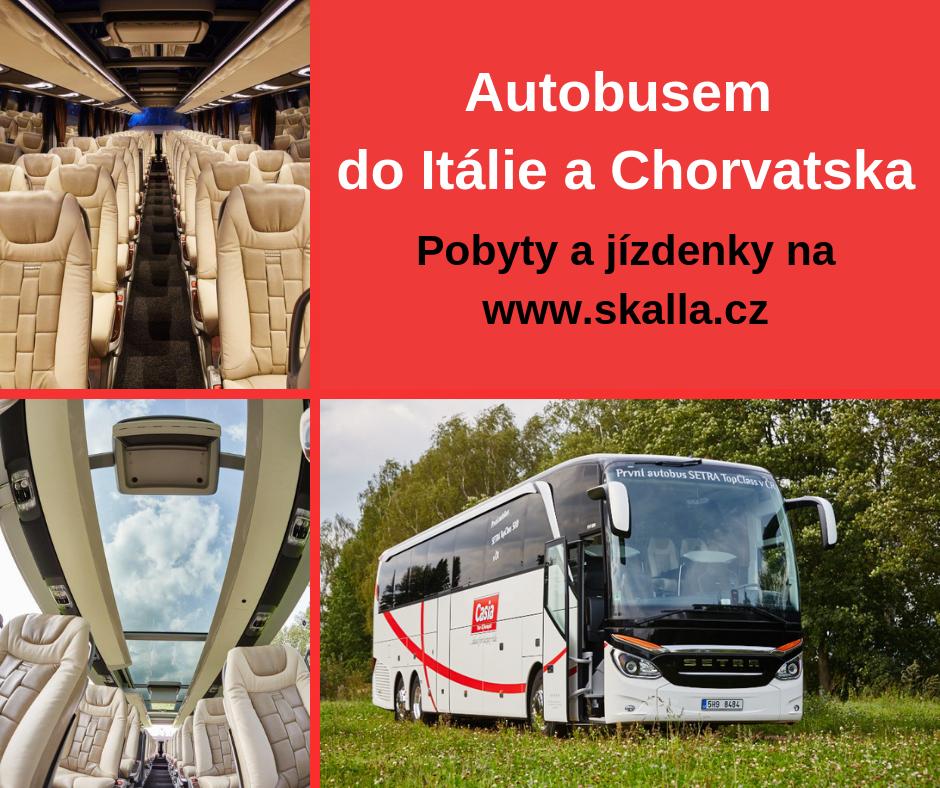 autobusem do itálie